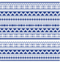 ethnic seamless patterns aztec geometric vector image