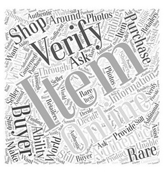 Finding rare items through online shopping word vector