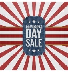Independence Day Sale special Emblem vector image