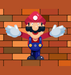 master builder in the construction form vector image
