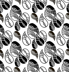 Paisley pattern36 vector image