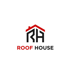 roof house vector image