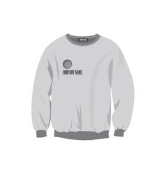 Sweatshirt design template vector