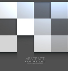 Tile background in gray shades vector
