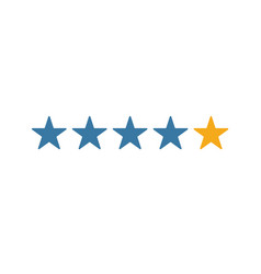 Tops and ratings icon simple element from smm vector