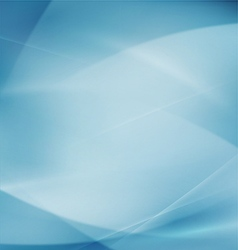 Abstract flow smooth curve and clean background vector image vector image