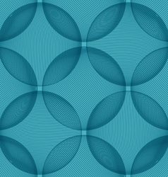 Background blue sphere vector image vector image