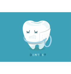 Toothache vector image vector image