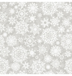 Christmas snowflake pattern vector