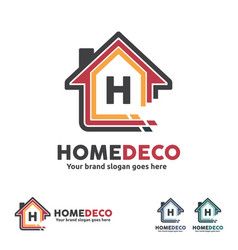 Home decorate logo vector