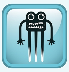monster design vector image