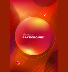 red vertical liquid color background design fluid vector image