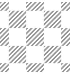 Seamless geometric checkered pattern Stripy vector