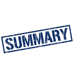 Summary stamp vector