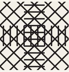 Zigzag lines geometric seamless pattern vector