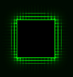 cpu printed circuit board motherboard chip vector image