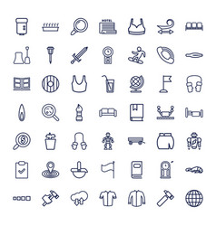 49 collection icons vector