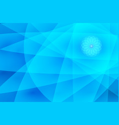 abstract blue background for use in design vector image