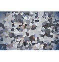 Abstract pixel polygonal design background vector