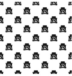 Blast furnace pattern seamless vector
