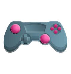 Digital joystick icon cartoon style vector