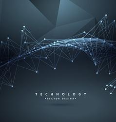 Digital technology wire mesh vector