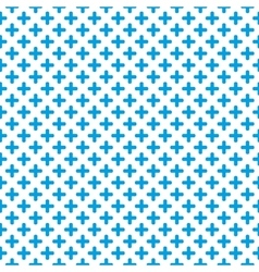 Tile blue and white background vector