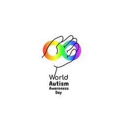 world autism awareness day april 2 2017 vector image