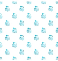 Roll of toilet paper pattern cartoon style vector image vector image