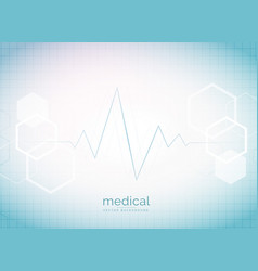 abstract medical and healthcare background with vector image