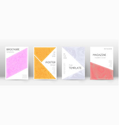 Abstract cover sightly design template vector