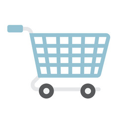 Ecommerce solutions flat icon seo and development vector