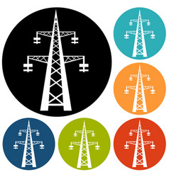 Electricity icon vector