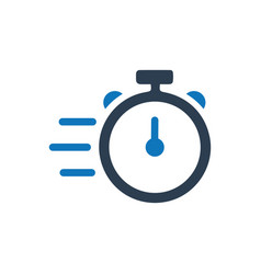 Fast speed icon vector