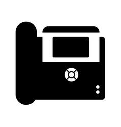 Ip phone vector