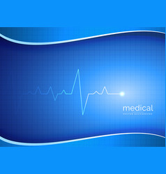 Medical pharmacy or healthcare background with vector