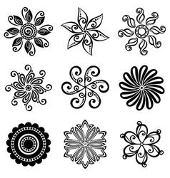 Set Deco Small Circles vector