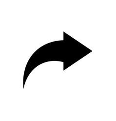 share icon publish symbol vector image