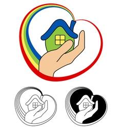 Small house vector