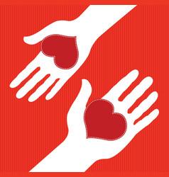 love exchange vector image vector image