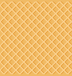 crisp waffles summer pattern seamless texture eps vector image