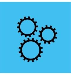 Gears vector image