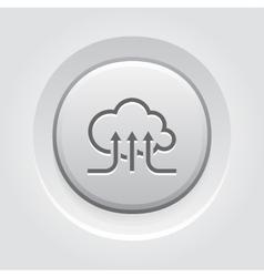 Online Cloud Services Icon vector image