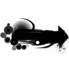 Recycle black vector