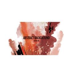 Rust background earth tone beige watercolor vector
