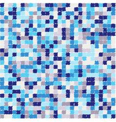 seamless pixel pattern vector image