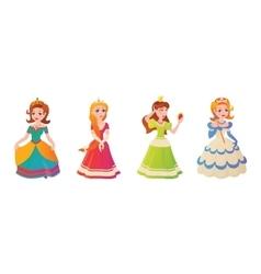 Princess character vector image vector image