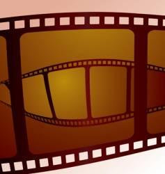 film overlap vector image vector image