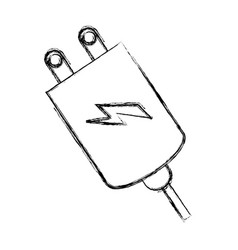 Battery charge symbol vector