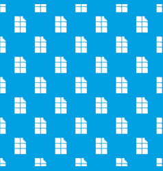 bite chocolate pattern seamless blue vector image